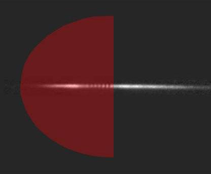 Black hole lasing
