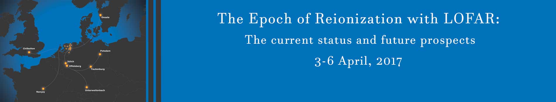 The Epoch of Reionization with LOFAR: The current status and future prospects 2017 banner
