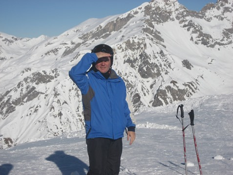 Amit at Ski