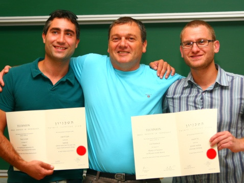 Amit with Graduated Students 2012