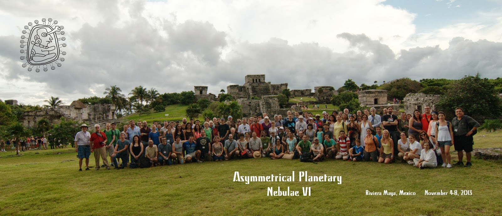 Participants in the Asymmetrical Planetary Nebulae VI meeting, Mexico 2013